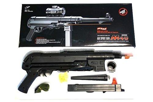 Double Eagle  3 Double Eagle mp40 WWII Spring Airsoft Machine Gun Rifle Airsoft Gun(Airsoft Gun)