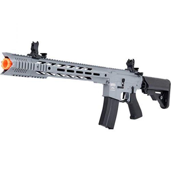 Lancer Tactical Airsoft Rifle 4 Lancer Tactical LT-25 ProLine Series M4 SPR Interceptor Airsoft AEG Rifle HIGH FPS Gray 395 FPS