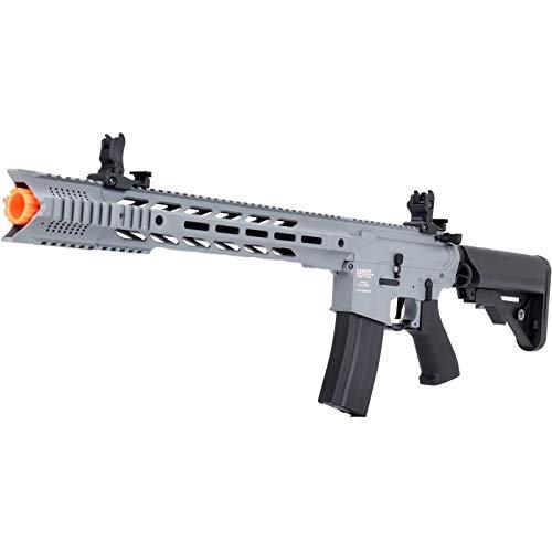 Lancer Tactical  4 Lancer Tactical LT-25 ProLine Series M4 SPR Interceptor Airsoft AEG Rifle HIGH FPS Gray 395 FPS