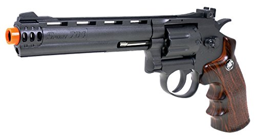 WG  2 wg model-704 6 revolver CO2 nbb w/nylon rotary drum & barrel(Airsoft Gun)