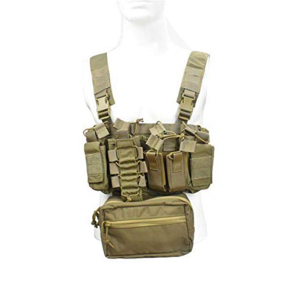 Jadedragon Airsoft Tactical Vest 1 Jadedragon Tactical CS Field Vest Adjustable Ultra-Light Breathable Chest Rig Outdoor Training Vest