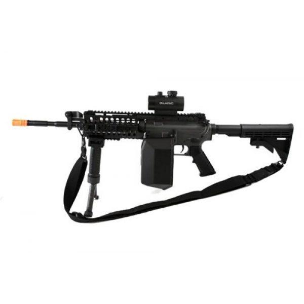 Jing Gong (JG) Airsoft Rifle 1 445 fps JG full metal gearbox m4 s-system custom aeg gunner - newest enhanced model(Airsoft Gun)