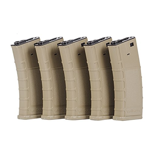 Valken  1 Valken Tactical Airsoft RMAG Hi Cap Thermold 300 Magazine (5 pack)