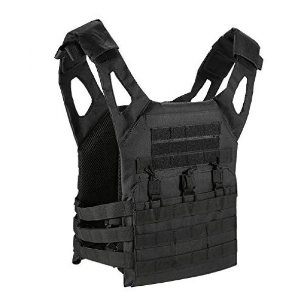 BGJ Airsoft Tactical Vest 4 Hunting Tactical Body Armor JPC Plate Carrier Vest Ammo Magazine Chest Rig Airsoft Paintball Gear Loading Bear Vests