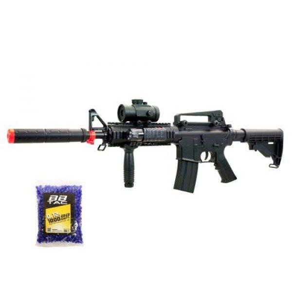 BBTac Airsoft Rifle 1 BBTac bt-m83+1000bb lpeg full auto electric power 250 fps airsoft gun with 1000 ball bearing(Airsoft Gun)