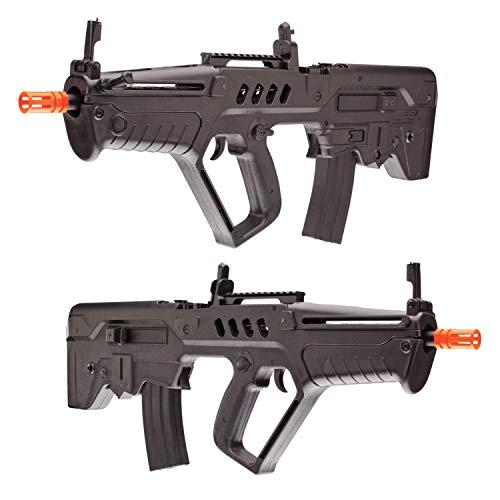 Wearable4U  3 Wearable4U Umarex Elite Force IWI Tavor 21 (Competition Series) AEG Electric 6mm BB Rifle Airsoft Gun Bundle