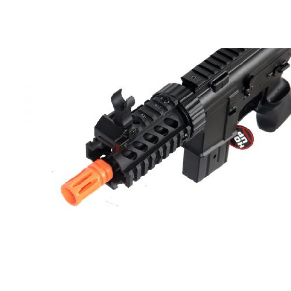 MetalTac Airsoft Rifle 2 MetalTac Electric Airsoft Gun M4 Stubby CQB JG-F6625 with Metal Gearbox Version 2, Full Auto AEG, Upgraded Powerful Spring 380 Fps with .20g BBS