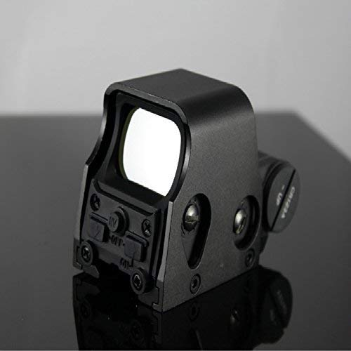 Yingyou  6 Yingyou Reflex Sight Scope Tactical Mini Holographic Red Dot Scope Light Adjustable Brightness Gun Rifle Shooting Spotting