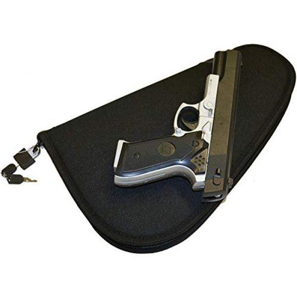 Explorer Pistol Case 3 Explorer Lock+Key Pistol Case