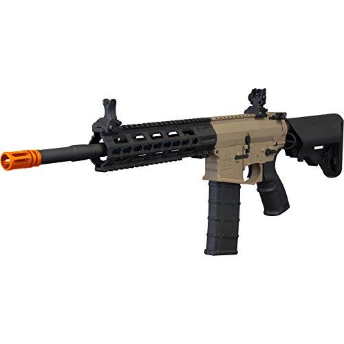 Tippmann Airsoft  1 Tippmann Tactical Commando AEG Carbine 14.5in Airsoft Rifle Tan
