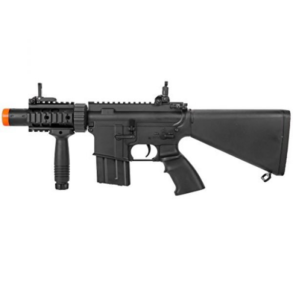 MetalTac Airsoft Rifle 7 MetalTac Electric Airsoft Gun M4 CQB 02 A&K with Full Metal Body, Metal Gearbox Version 2, Full Auto AEG, Upgraded Powerful Spring 380 Fps with .20g BBS