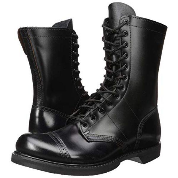 Corcoran Combat Boot 7 Men's 10 Inch Side Zipper Jump Boot-M