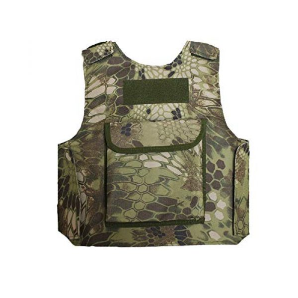 Sunny Airsoft Tactical Vest 6 Sunny Outdoor Camouflage Combat Assault Waistcoat Tactical Molle Child Vest