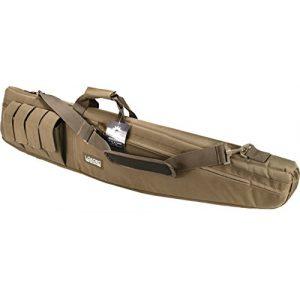 "Loaded Gear Rifle Case 1 Loaded Gear 48"" Tactical Rifle Soft Rifle Gun Bag Case, Brown (Brown)"