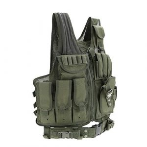 Shefure Airsoft Tactical Vest 4 Shefure Tactical Vest Security Outdoor Training Combat Vest Military Paintball Airsoft CS Field Protection Body Armor