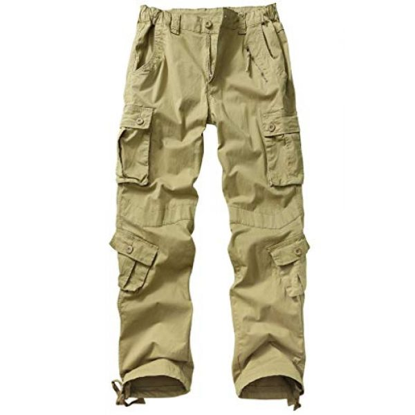 TRGPSG Tactical Pant 1 Women's Casual Ripstop Military Work Trousers, Multi-Pocket Outdoor Army Combat Cargo Pants