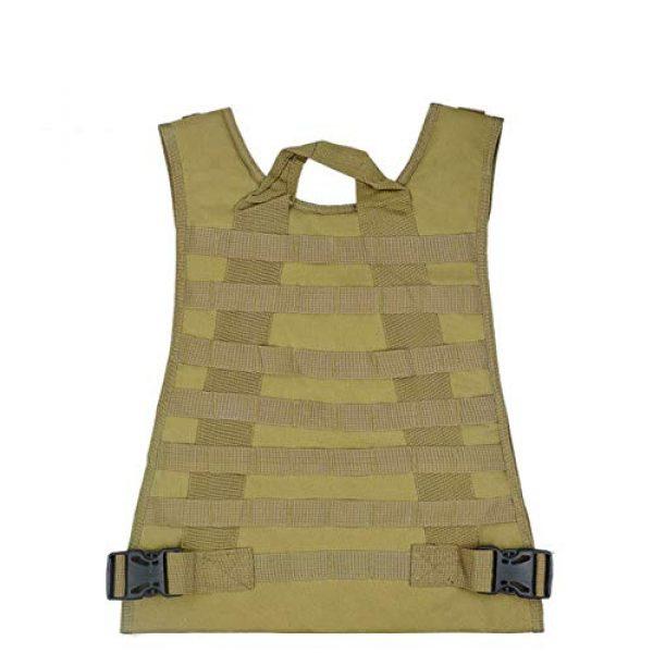 HHFC Airsoft Tactical Vest 4 HHFC Outdoor Nylon Tactical Vest Security Guard Waistcoat Field Combat Training Protective Vest Tactical Molle Airsoft Vest Paintball Combat Soft Vest