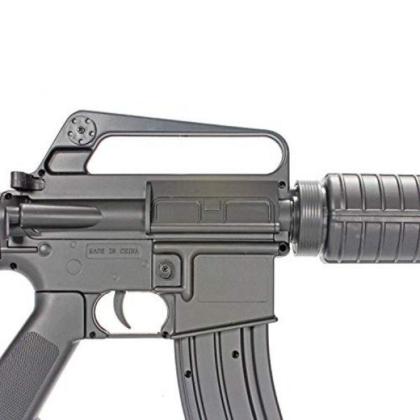 BBTac Airsoft Rifle 4 BBTac M16-A1 Vietnam Model Spring Action Assault Rifle, Black (BT-M16A1_(a))