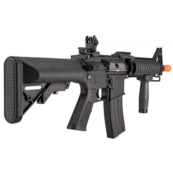 Lancer Tactical Airsoft Rifle 4 Lancer Tactical MK18 Polymer Low FPS MOD 0 AEG Airsoft Rifle Black