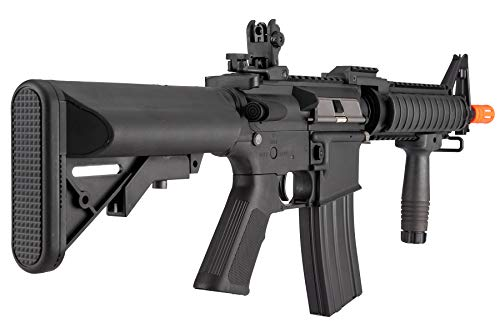 Lancer Tactical  4 Lancer Tactical MK18 Polymer Low FPS MOD 0 AEG Airsoft Rifle Black