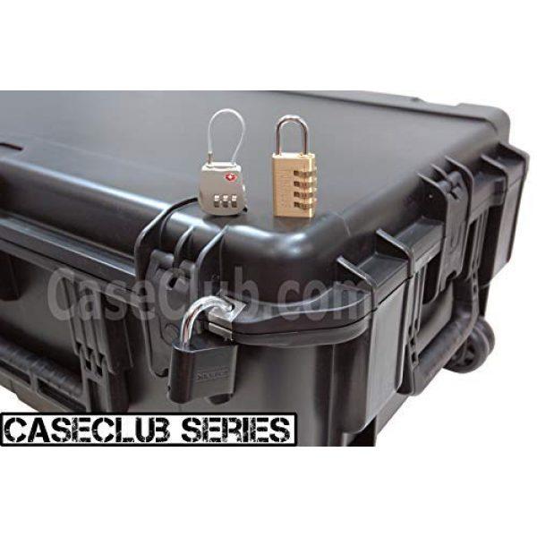 Case Club Pistol Case 3 Case Club 10 Pistol & Accessory Pre-Cut Waterproof Case with Silica Gel to Help Prevent Gun Rust