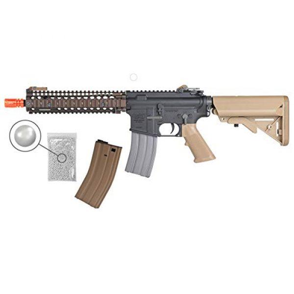 Wearable4U Airsoft Rifle 1 Umarex MK18 Avalon Black/Tan AEG Electric Airsoft Rifle Gun with Wearable4U Bundle