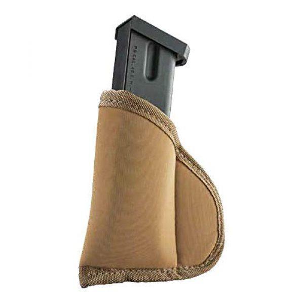 BLACKHAWK Pistol Case 1 Tec Grip Isp/Iwb Full Size Sgl/Dble Stack Mag Pch Coyote Ta