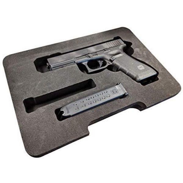 Cedar Mill Fine Firearms Pistol Case 1 Cedar Mill Fine Firearms Replacement Foam for The Pistol Case