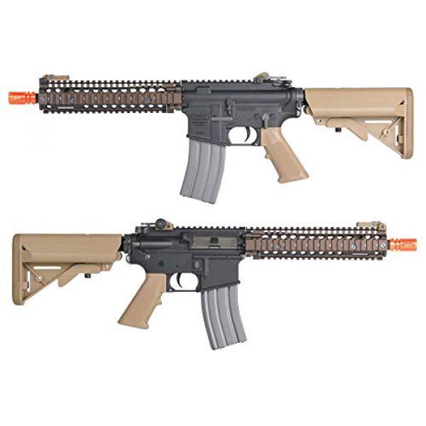 Wearable4U Airsoft Rifle 2 Umarex MK18 Avalon Black/Tan AEG Electric Airsoft Rifle Gun with Wearable4U Bundle