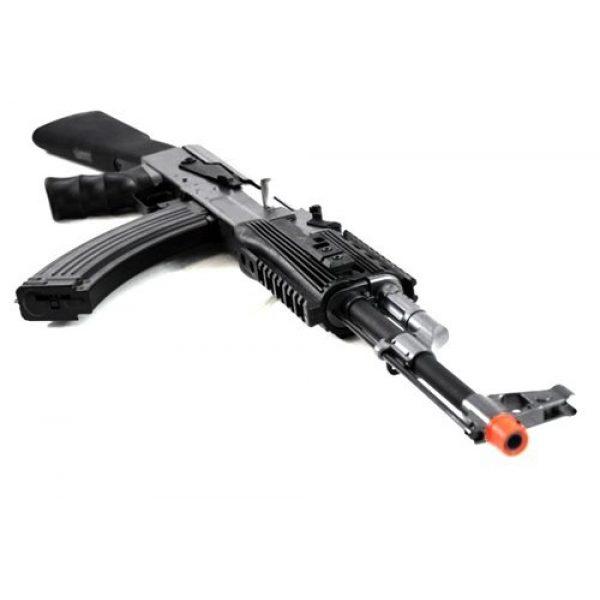 BBTac Airsoft Rifle 7 BBTac BT-AK Tactical RIS AEG w/ Integrated Rail System, Full Metal Gearbox (BLACK)