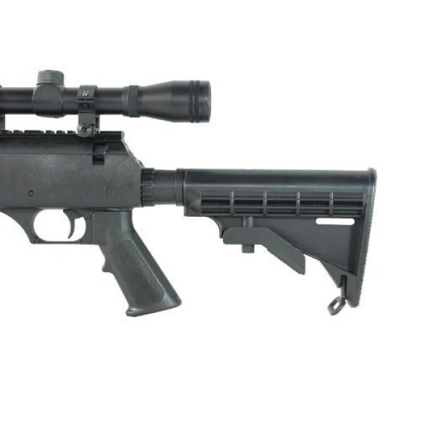Well Airsoft Rifle 6 Well MB06 SR-2 Tactical Airsoft Sniper Rifle w/ 3-9x40 Scope & Bipod Bolt Action Airsoft Sniper