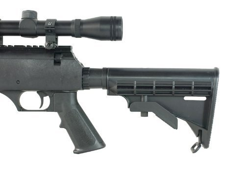 Well  6 Well MB06 SR-2 Tactical Airsoft Sniper Rifle w/ 3-9x40 Scope & Bipod Bolt Action Airsoft Sniper