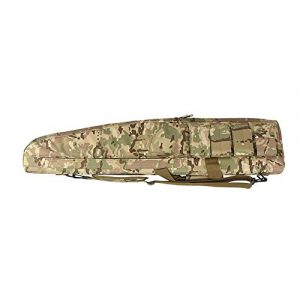 Sunny  1 Outdoor Sports Gear Tactical Assault Combat Camouflage Rifle Gun Case Cover Shooting Hunting Fishing Pack Tactical Airsoft Gun Long Bag - CP - 120cm