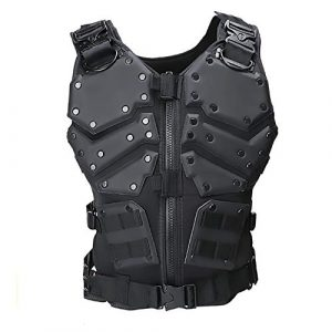WEQ Airsoft Tactical Vest 1 WEQ Airsoft Tactical Vest Special Forces Chest Protector Vest Paintball Vest Outdoor Modular Combat Training Adjustable (Color : #A)