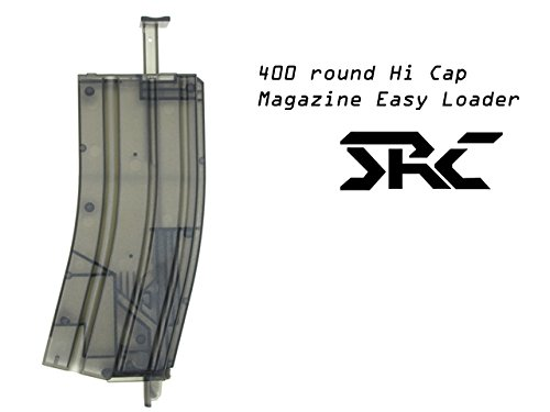 SRC  2 SRC Hi-Cap 400rd M4 Style Speed Easy Loader for Airsoft AEG Magazine