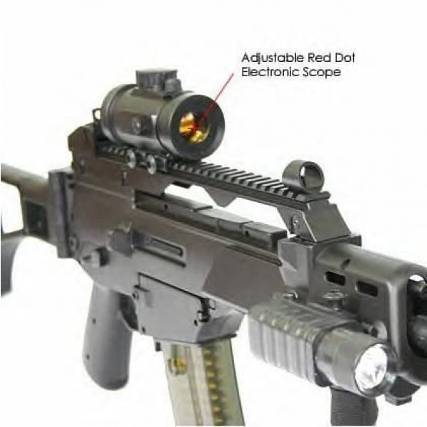 Double Eagle Airsoft Rifle 2 Double Eagle X36 M85 Fully Automatic Airsoft Electric Gun