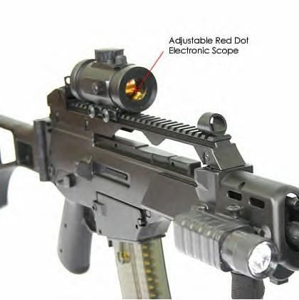 Double Eagle  2 Double Eagle X36 M85 Fully Automatic Airsoft Electric Gun