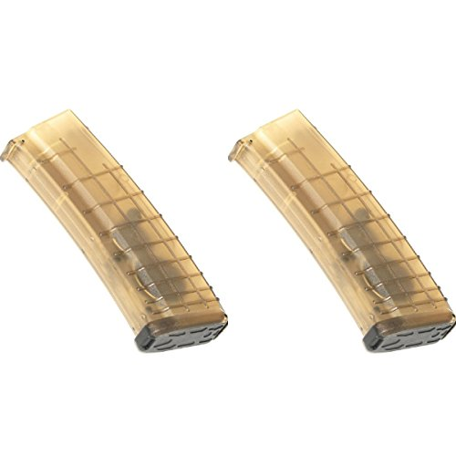 Airsoft Shopping Mall  1 Airsoft Shooting Gear 2pcs Pack CYMA 360rd Flash Mag Waffle Magazine for AK-Series AEG Semi Transparent