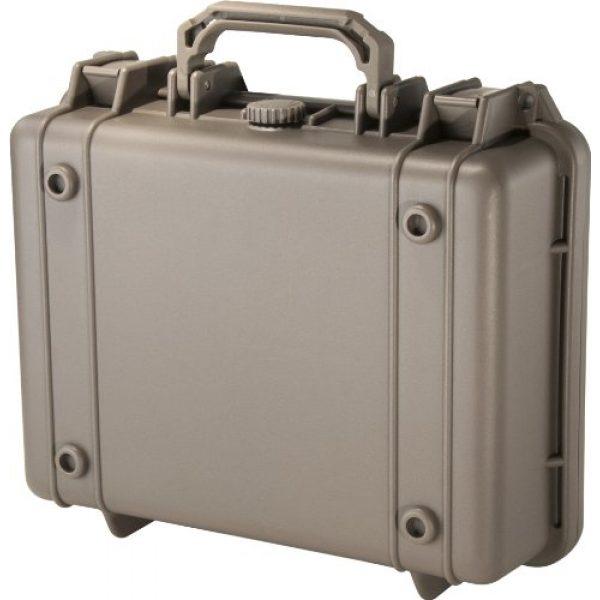BARSKA Pistol Case 4 Barska Loaded Gear HD-200 Dark Earth Hard Case