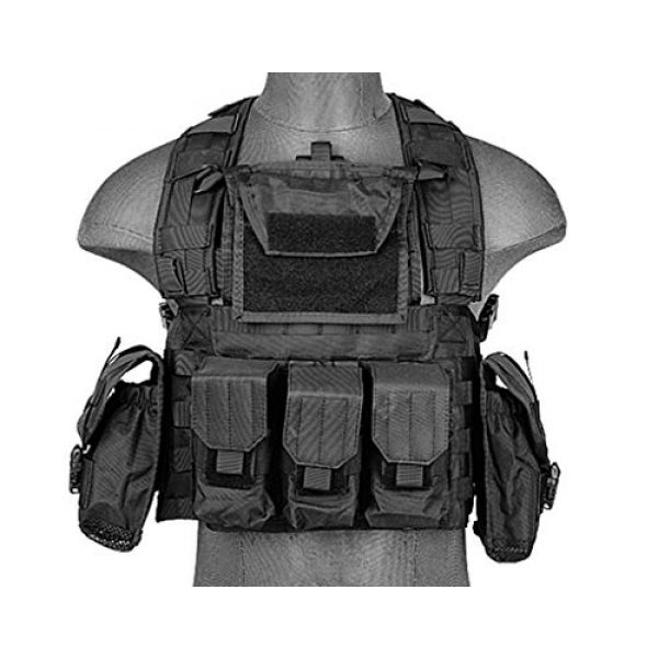 LT Airsoft Tactical Vest 1 LT Airsoft Tactical Vest Modular Rig Mag Pouch Hydration Pouch Multi Colors