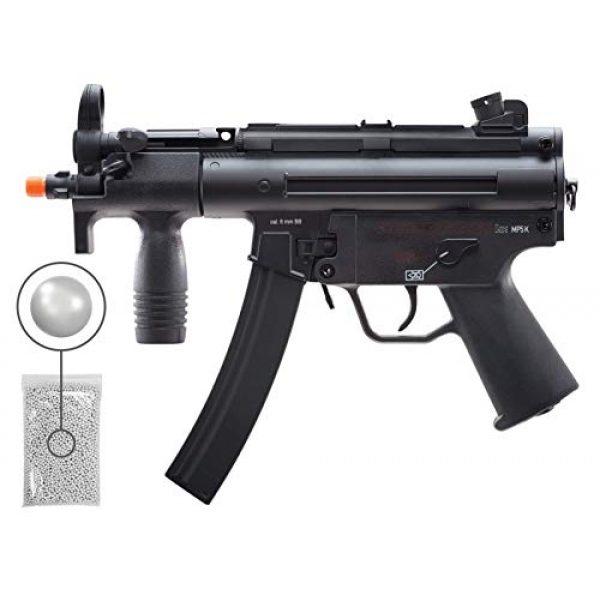 Wearable4U Airsoft Rifle 1 Wearable4U Umarex HK MP5K BB Airsoft Rifle AEG Electric Black, Multi Bundle