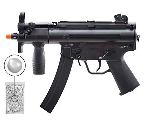Wearable4U  1 Wearable4U Umarex HK MP5K BB Airsoft Rifle AEG Electric Black