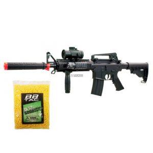 BBTac Airsoft Rifle 1 BBTac bt-m83+5000bb lpeg 250 fps full auto electric power airsoft gun with tactical accessories and 5000 ball bearing(Airsoft Gun)