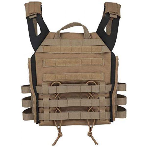 NICEFISH Airsoft Tactical Vest 4 NICEFISH Outdoor Tactical Expansion Protection JPC Vest Version 2.0 Amphibious Combat Vest