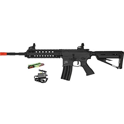 Valken  1 Valken ASL MOD-L AEG M4 Airsoft Rifle - Black w/Battery & Charger