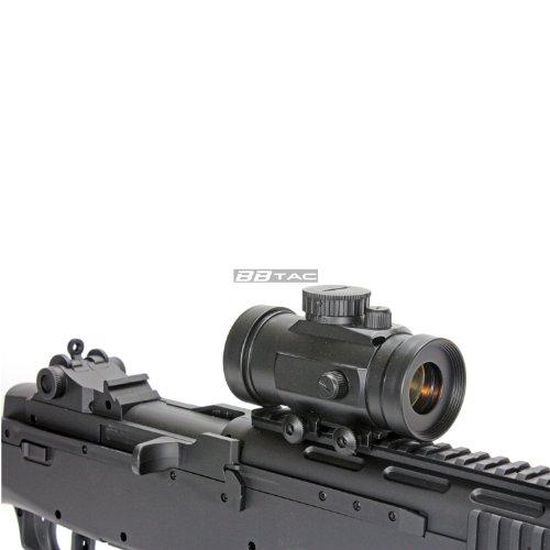 BBTac  5 BBTac m305p airsoft gun m14 ris full sized spring airsoft rifle with scope with warranty(Airsoft Gun)