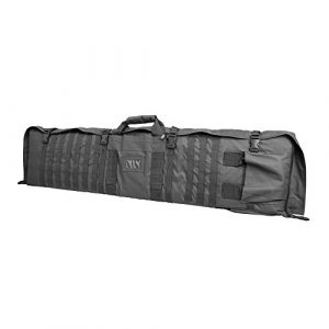 NcSTAR Rifle Case 1 Nc Star Rifle Case with Shooting Mat, Large, Urban Gray