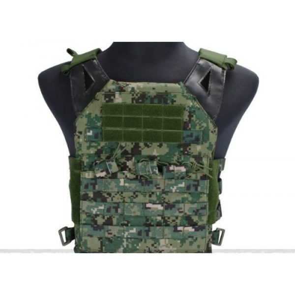 enmu pancho Airsoft Tactical Vest 1 Professional Airsoft Vest made with Durable nylon fabric - Digital Woodland
