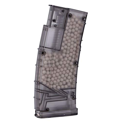 Will Outdoor  7 Will Outdoor Paintball Plastic BB Loader 500 Rounds Tactical Military BB Loader Hunting Accessories