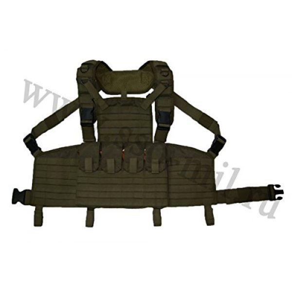 SSO/SPOSN Airsoft Tactical Vest 2 SSO/SPOSN Russian Military Chest Rig Legat M.O.L.L.E